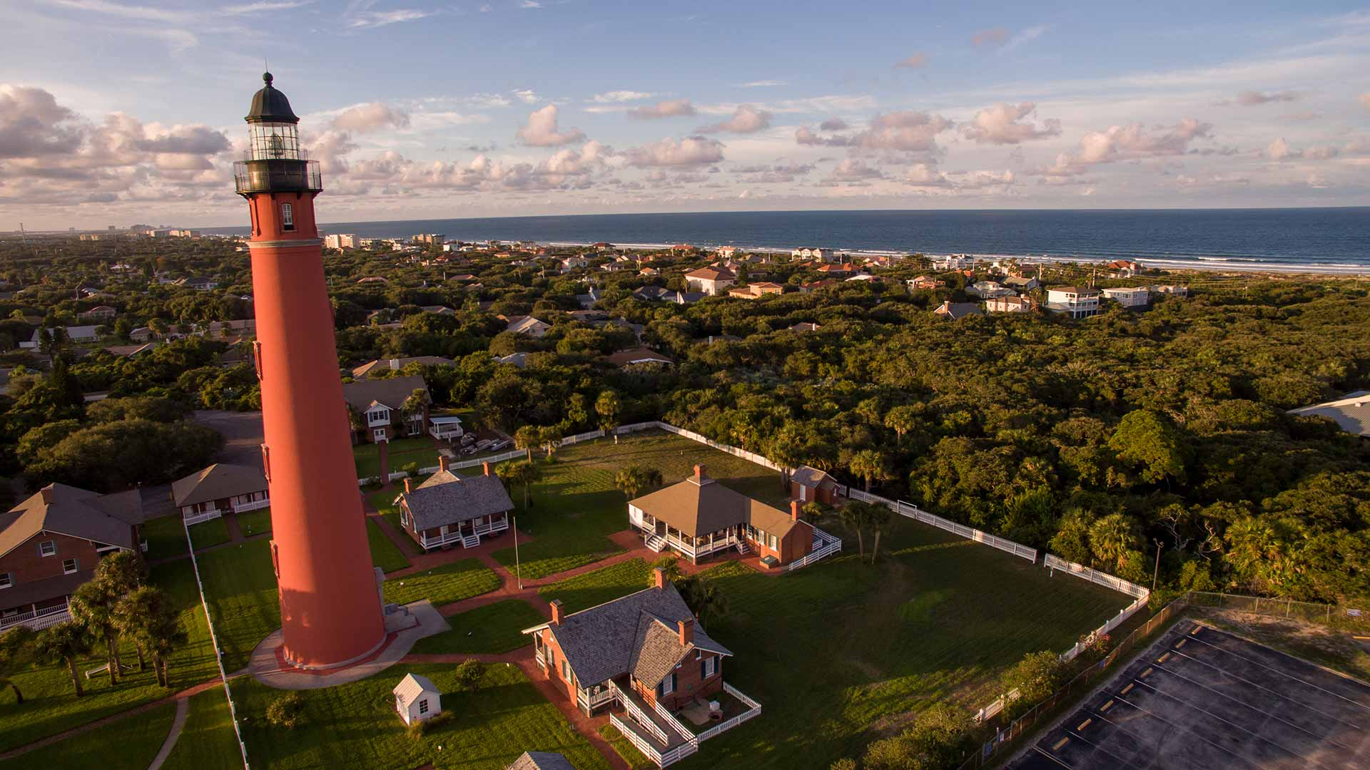 view of Ponce Inlet Lighthouse